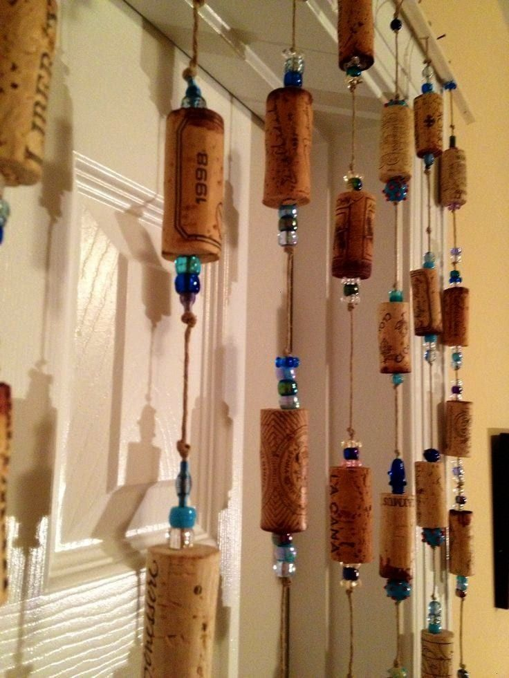These crafts are as useful as they are adorableCrafts These crafts are as useful as they are adorable Items similar to Recycled Champagne Cork Ornament Bottle Bling  Key...