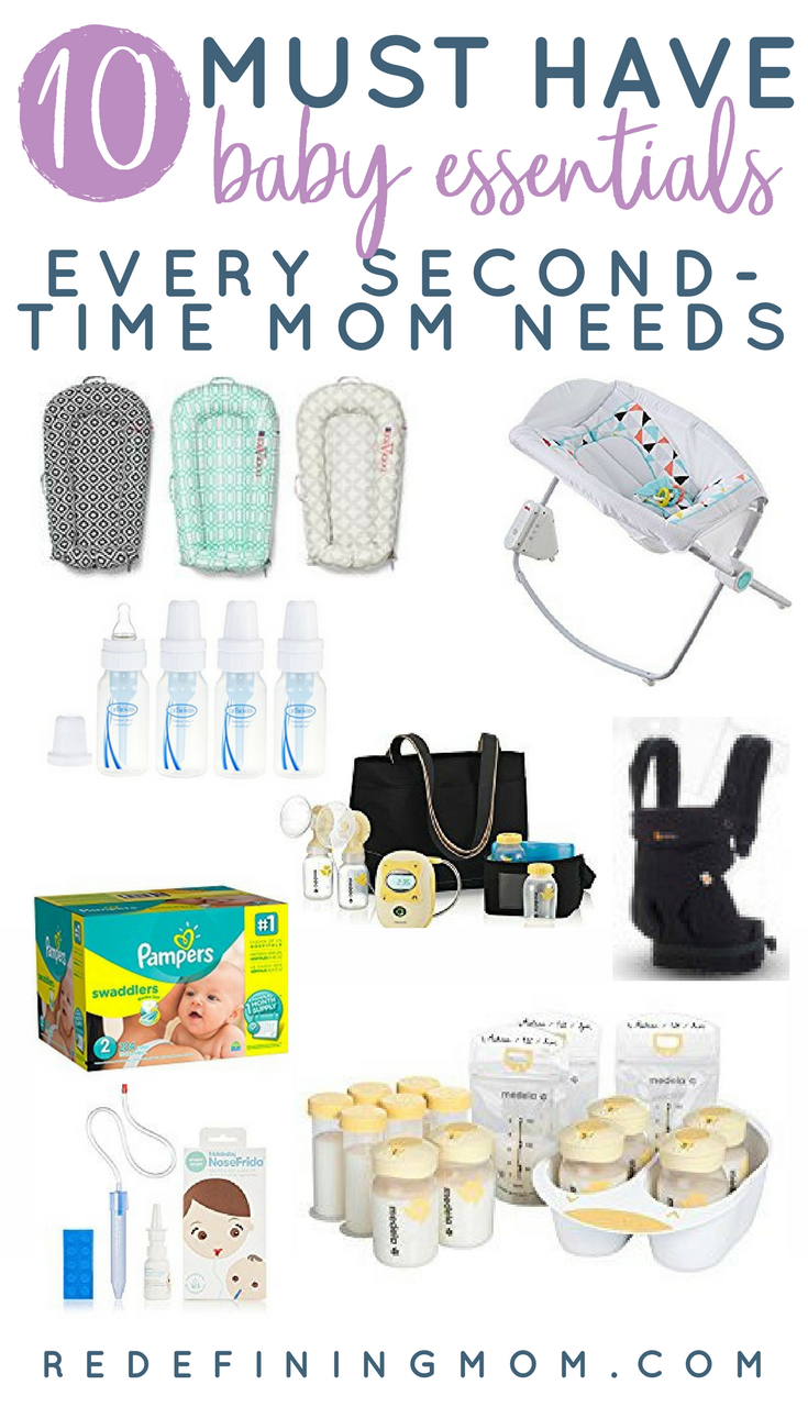 Top 10 Must Have Baby Shower Gift Ideas! 10 must have baby essentials for  second time moms. Find the perfect baby gift for new moms or second time  moms.