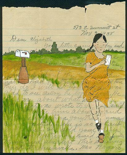 dear elizabeth by Amy Rice, via Flickr