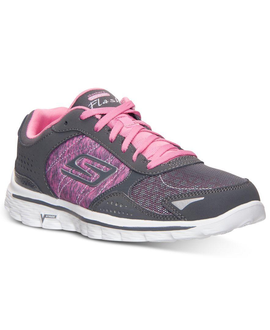 Skechers Women S Gowalk 2 Flash Strong Walking Sneakers From