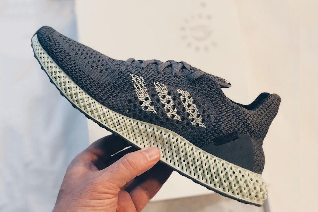 b49398d4567 Take a First Look at the adidas Consortium FUTURECRAFT 4D in Grey in ...
