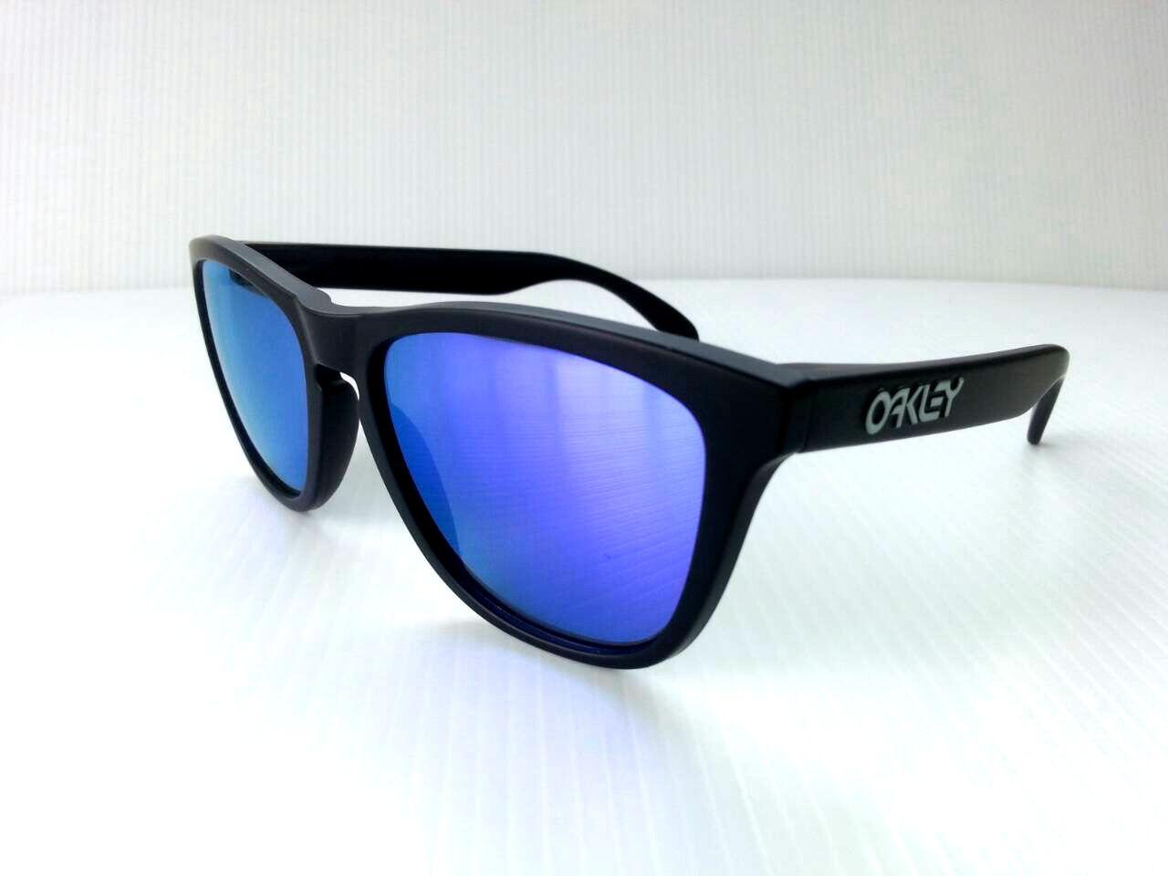 oakley frogskins lx blue