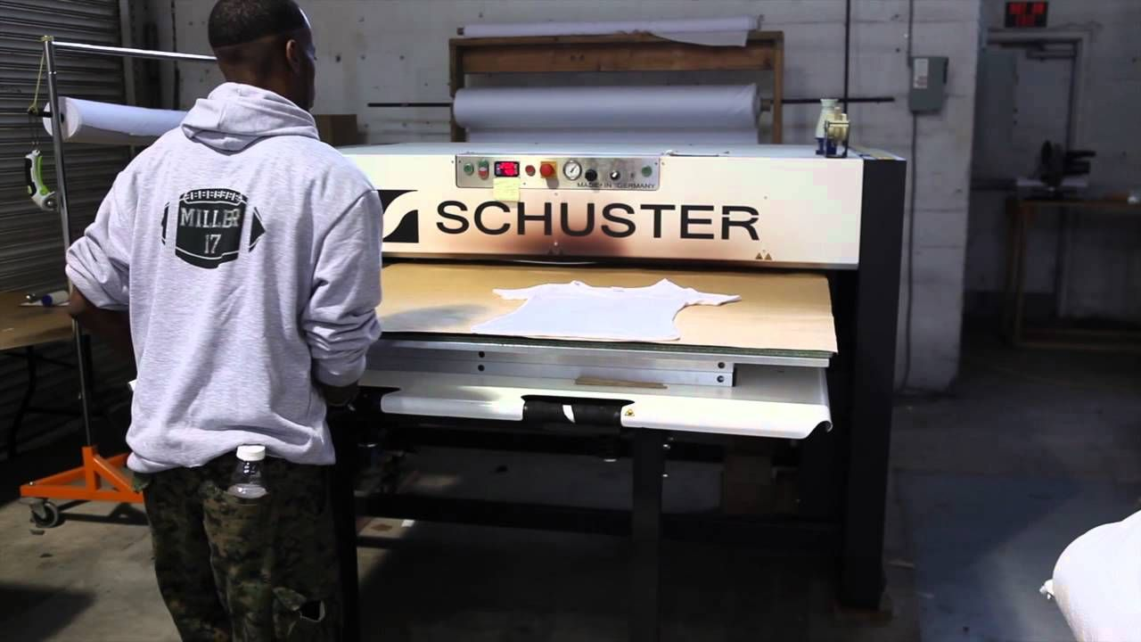 This Is A Do It Yourself Video On All Over Printing By Vapor Apparel The