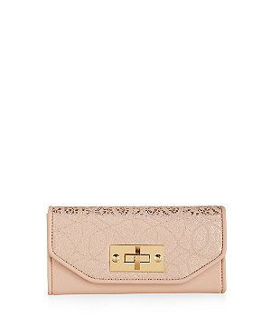 Stone Lace Flap Over Purse  | New Look