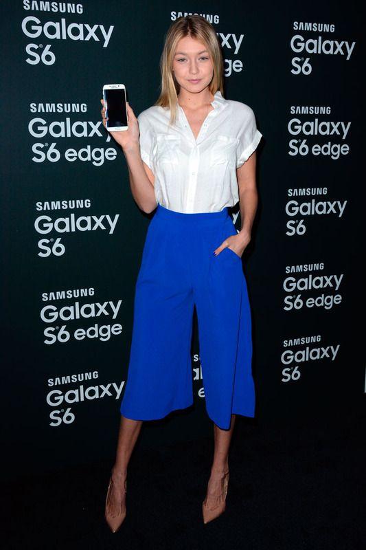 Gigi Hadid y los culotte en azul klein