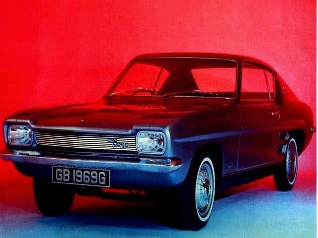 Og 1969 Ford Capri Mk1 Prototype Badged As A Corsair Ford