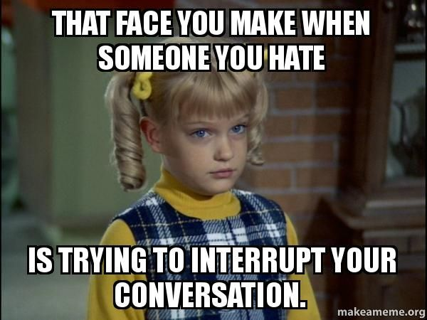 Funny Memes For Conversation : The conversation is sparkling funny memes