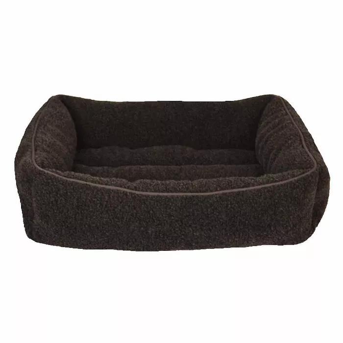Modern Cuddler Rectangle Dog Bed Boots Barkley Dog Bed Material Bed Bed Styling