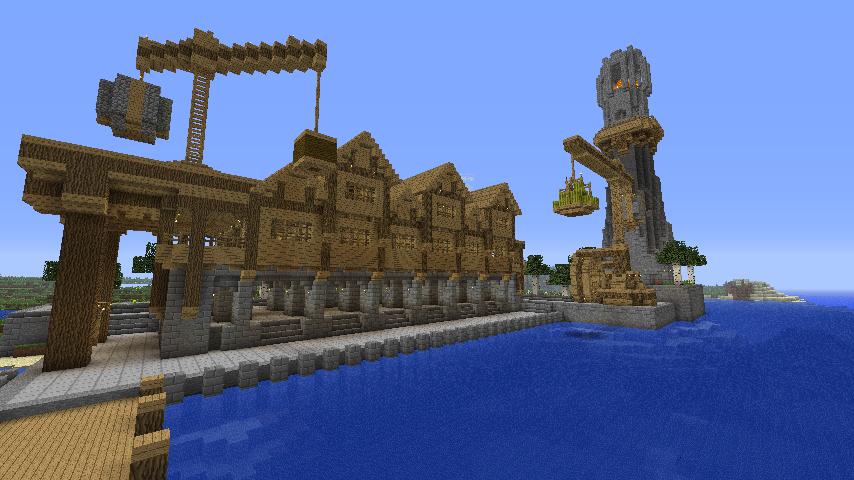 Medieval Minecraft Port Google Search Minecraft Pinterest - Minecraft hochhauser