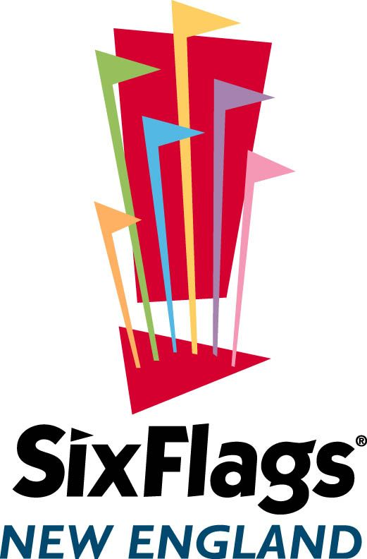 Six Flags New England Logo Six Flags Great Adventure Six Flags Six Flags Over Texas