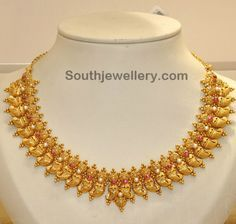 South Indian Latest Gold Necklace Designs Best Necklace 2017