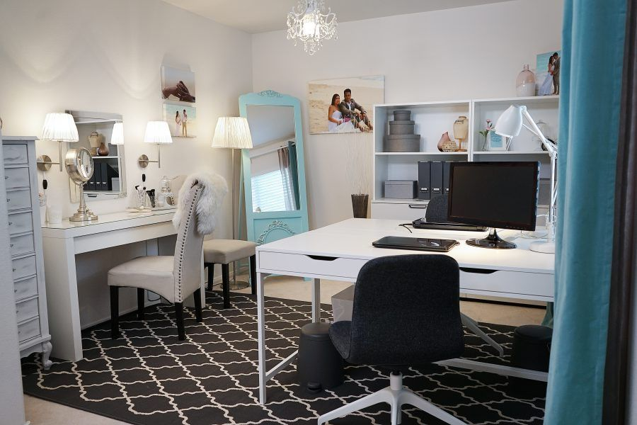 Exceptionnel IKEA Home Tour Makeover Home Office Makeover