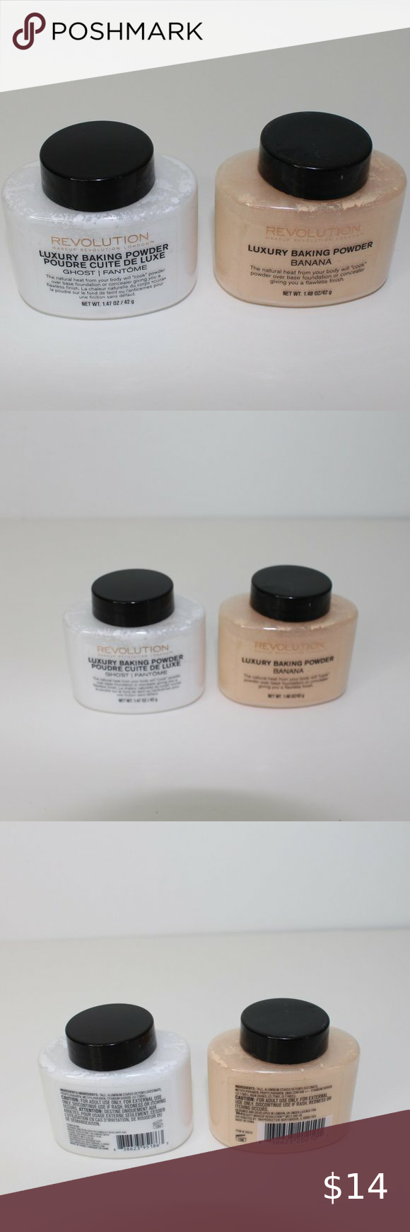 Makeup Revolution Luxury Baking Powder ( Set of 2) in 2020