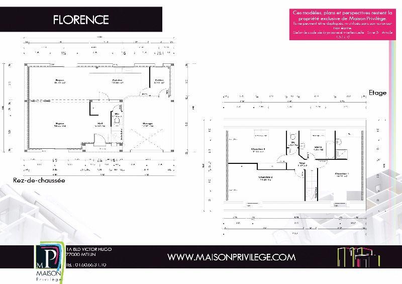 Construction maison modèle Florence  Maison Privilège