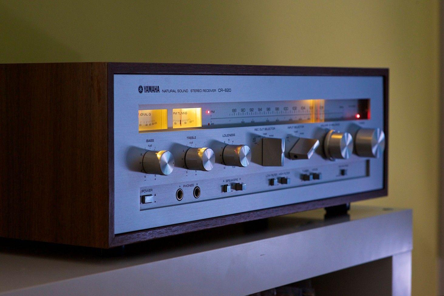 Yamaha Cr 620 Electronique Amplificateur De Son Ampli