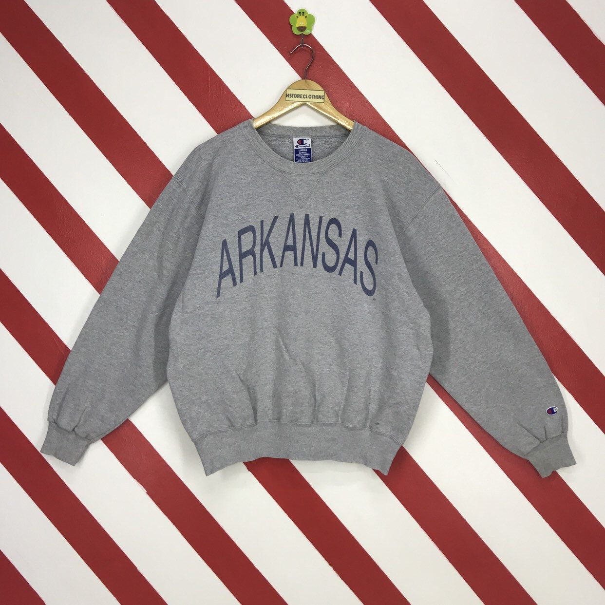 Excited To Share The Latest Addition To My Etsy Shop Vintage 90s Champion Arkansas Sweatshirt Champion Swea Champion Sweatshirt Champion Crewneck Sweatshirts [ 1242 x 1242 Pixel ]