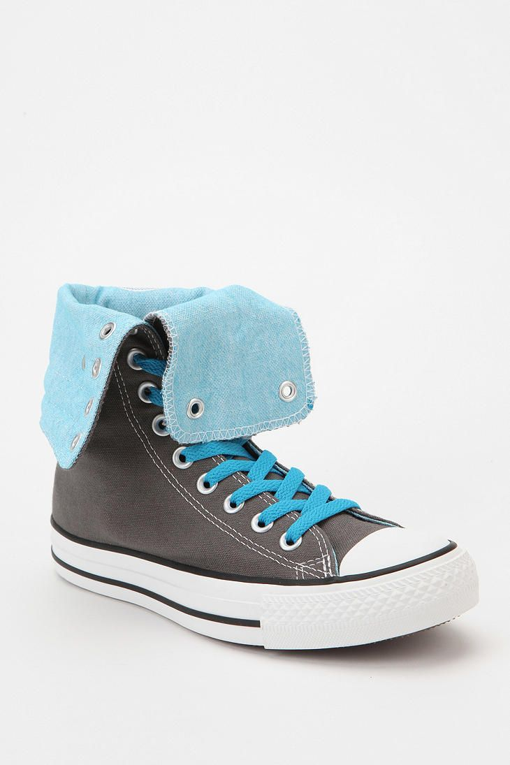 a71429abb7c4 Converse Chuck Taylor All Star Fold-Over High-Top Sneaker  UrbanOutfitters  These are so cute to me!!