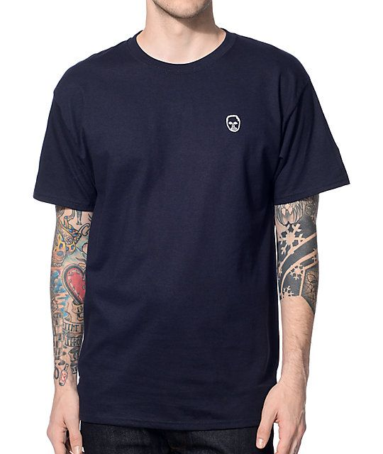 fac02104963 This Zumiez exclusive short sleeve tee features a small Earl Sweatshirt  face logo embroidered on ...