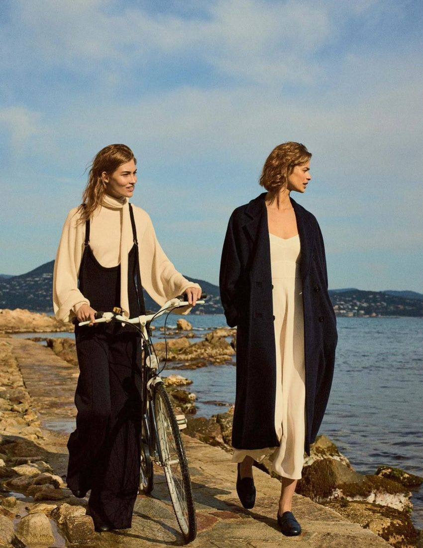 Vogue UK July 2017 Grace Elizabeth and Birgit Kos by Gregory Harris - Fashion Editorials