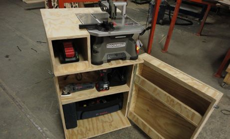 Rockwell Bladerunner Rk7321 Full Review Tool Cabinet Build Coptool Com Woodworking Joinery Woodworking Basics Diy Deck