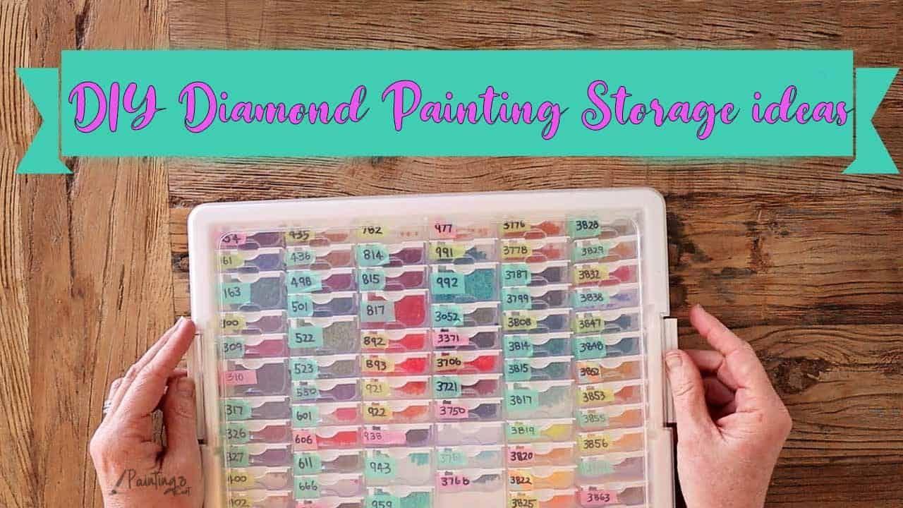 7 amazing diy diamond painting storage ideas