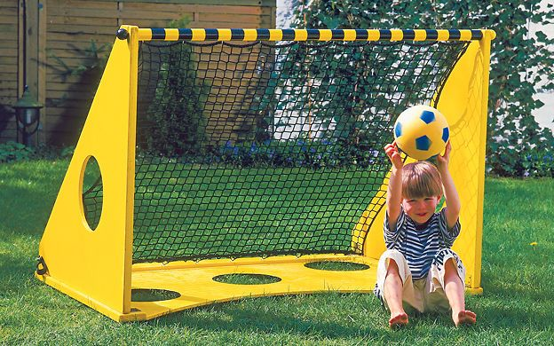 torwand selber bauen christel neu fussball spiele im garten und kinder. Black Bedroom Furniture Sets. Home Design Ideas