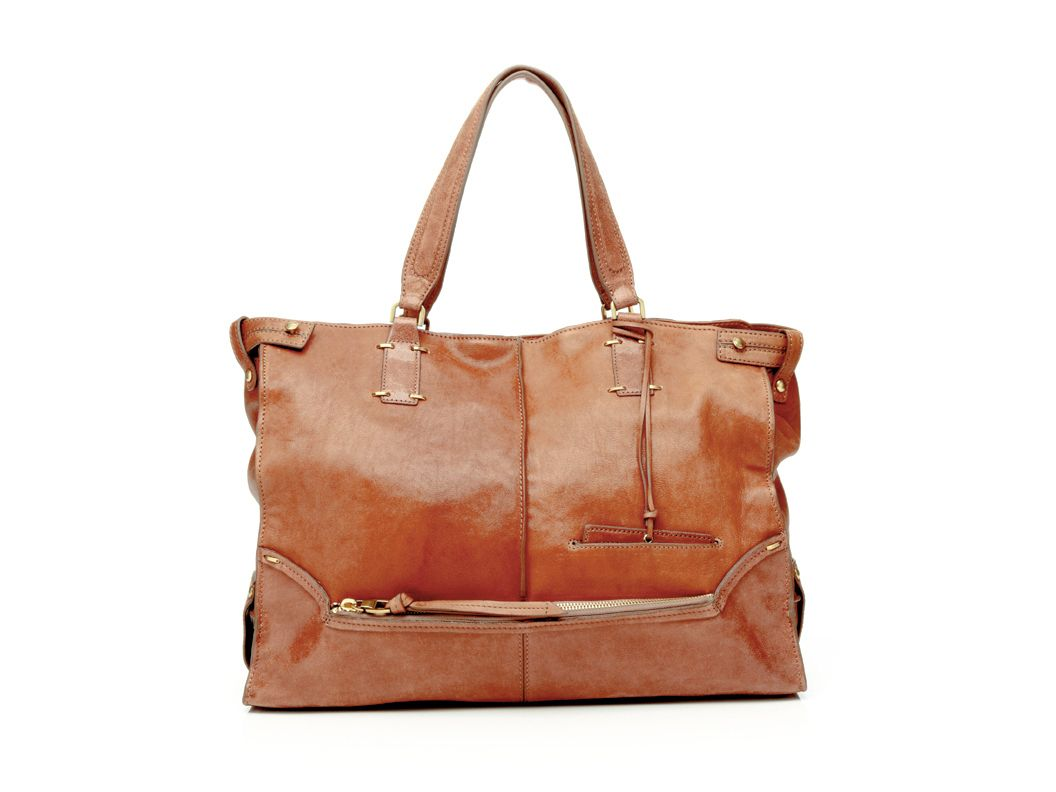 leather tote bag...very similar to fossil one...