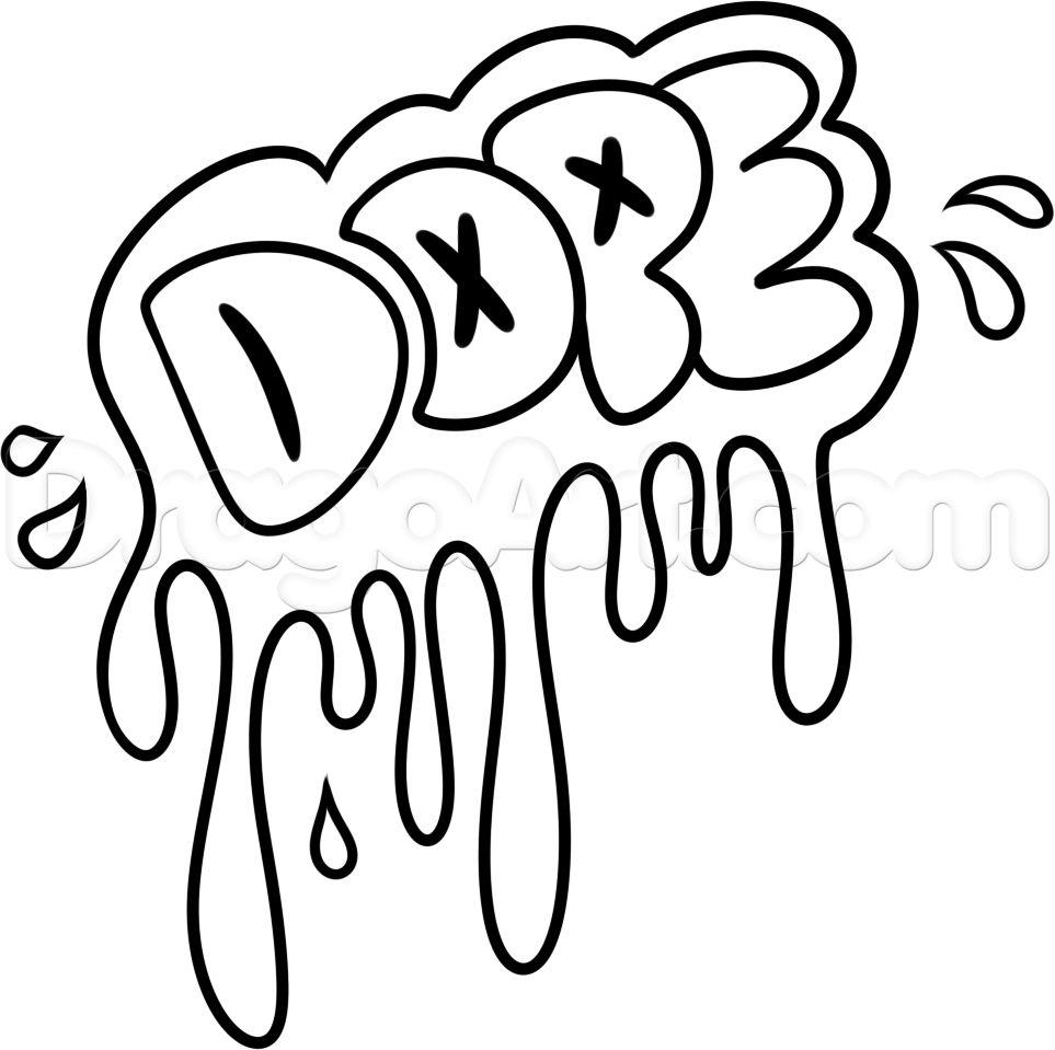 Easy Cool Drawing Ideas Cool Graffiti Easy Graffiti Drawings Cool Easy Drawings Word Drawings