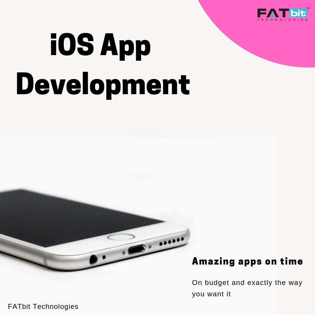 IOS App Development - FATbit Technologies Provides best iOS solution