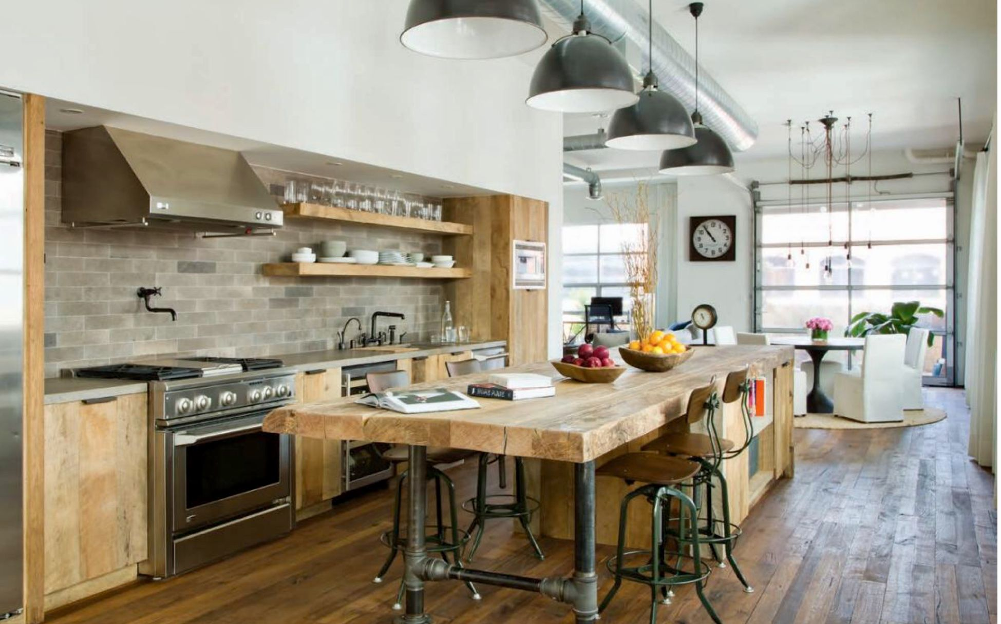 Rustic Elements Used In Kitchen