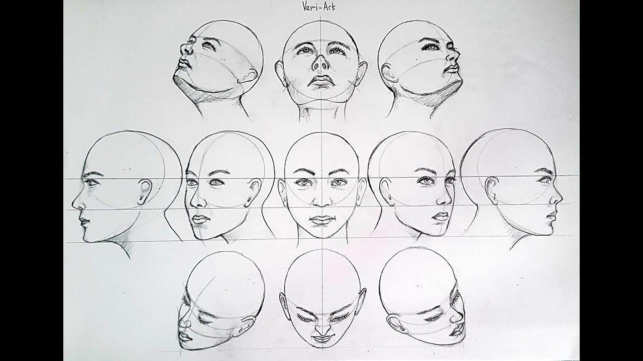 Heads Angle Youtube Head Angles Head Shapes Angles