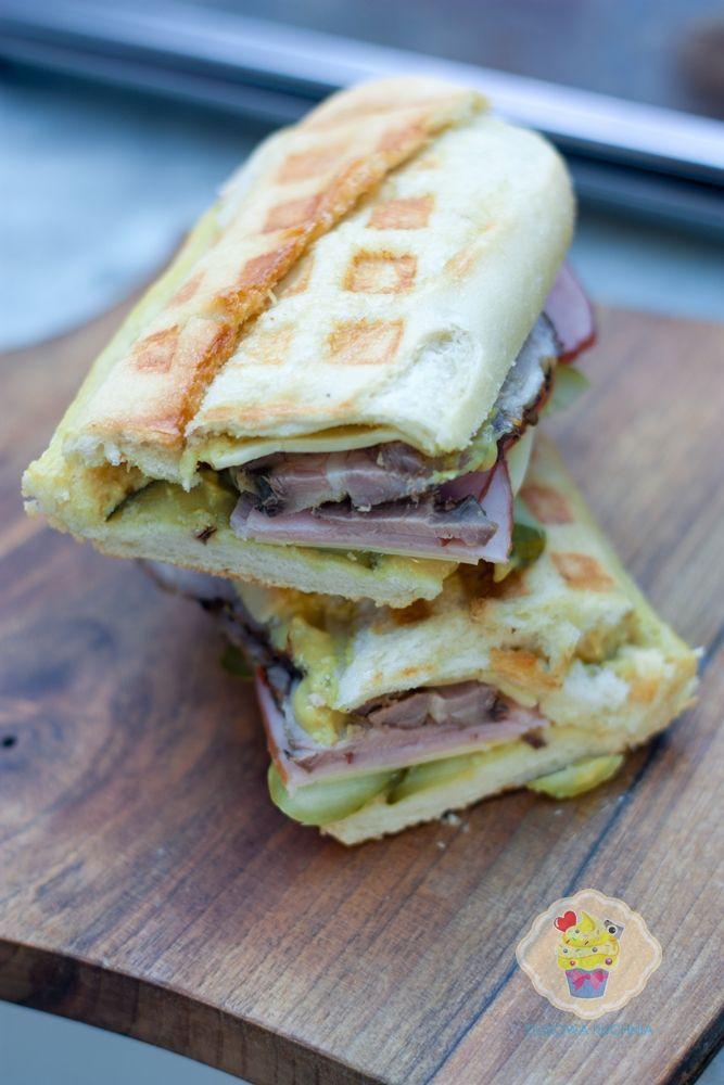 Dusiowa Kuchnia Pyszne Przepisy Kubanska Kanapka Sandwiches Food Panini Sandwiches