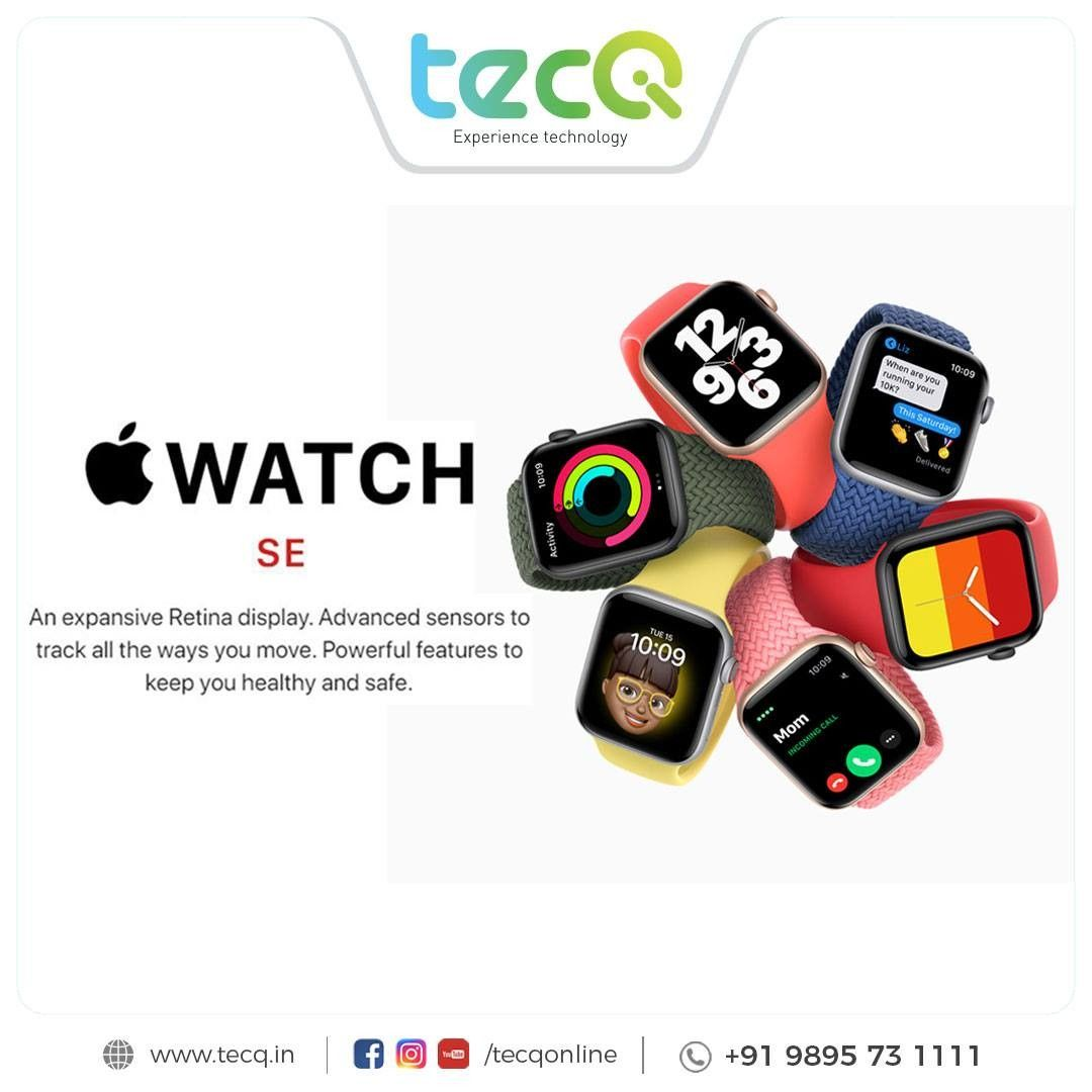 The post An expansive Retina display. Advanced sensors to track all the ways you move. Powerful features to keep you healthy and safe.#tecq #apple #appleproduct #applenew #tecqapple #tecqgadgets #staytuned appeared first on TecQ.