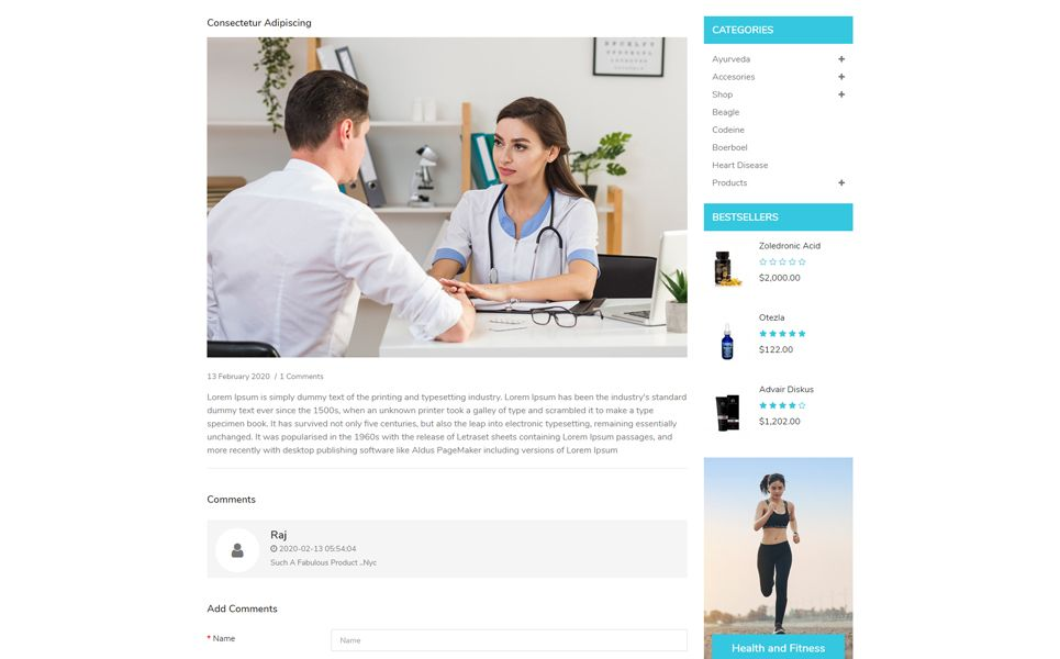 Heartly Opencart Template 97751 Ad Opencart Template Heartly In 2020 Opencart Templates Opencart Templates