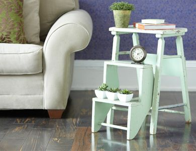 Ladder Bed Side Tables
