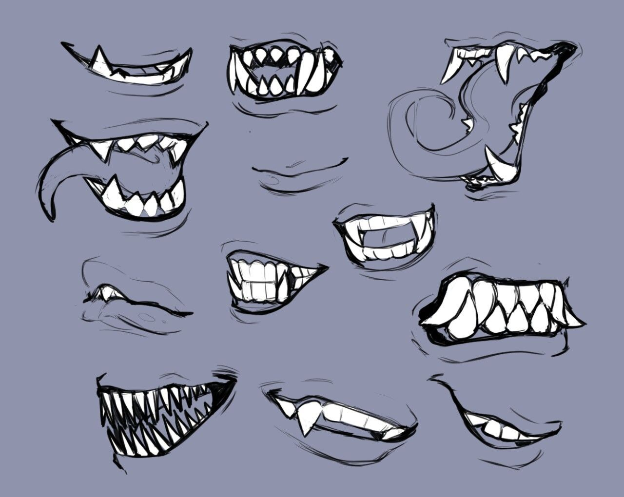 Mouths In 2020 Smile Drawing Mouth Drawing Teeth Drawing