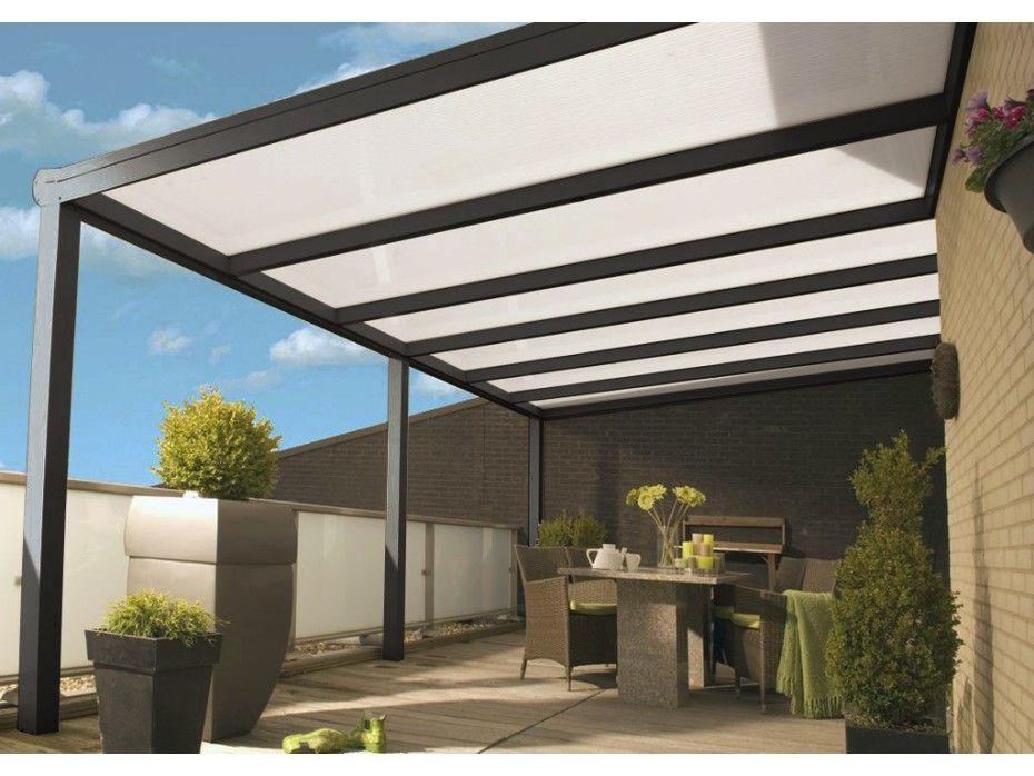aporta a tu hogar la extensin que merece con la prgola de aluminio y policarbonato sistema de drenaje color gris antracita estrella medidas m grosor - Pergola De Aluminio