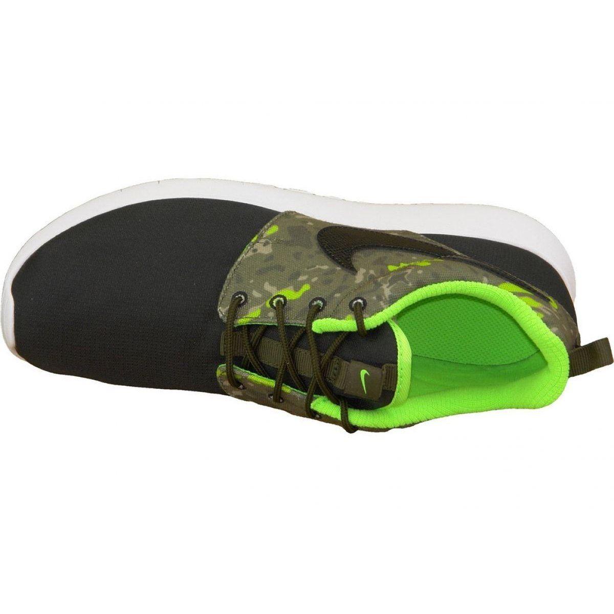 Buty Nike Roshe One Print Gs M 677782 008 Czarne Wielokolorowe Zielone Nike Roshe Mens Nike Shoes Nike