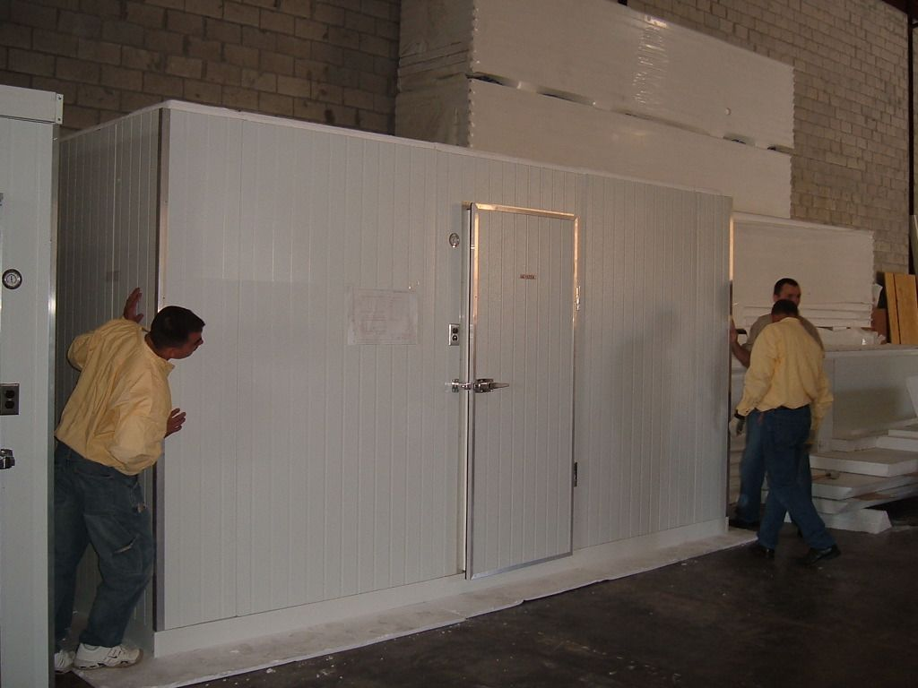 How To Build Your Own Walk In Cooler And Walk In Freezer Or Cold Storage Walk In Freezer Cold Room Insulated Panels