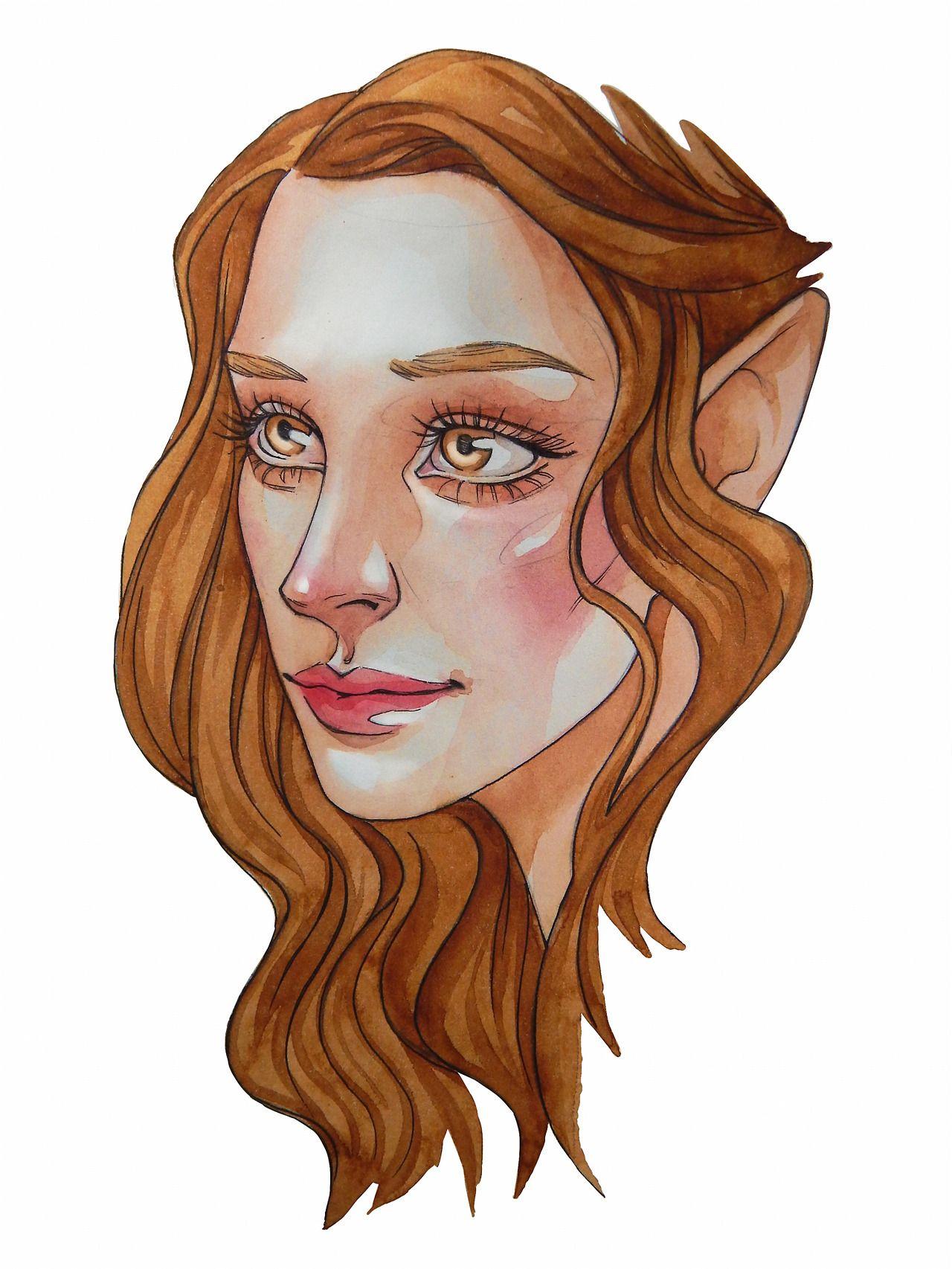 Hello Tumblr Darling Morgana0anagrom Elain Archeron From A