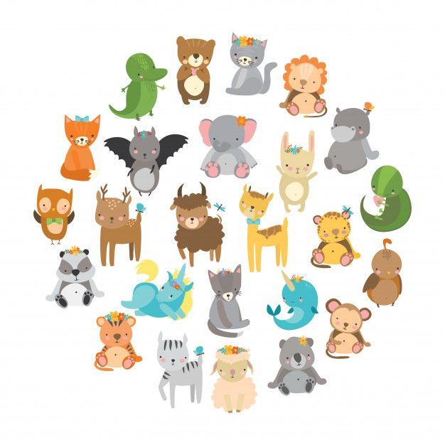 Download Cute Zoo Animals For Free In 2020 Zoo Animals Animal Clipart Cute Animal Videos