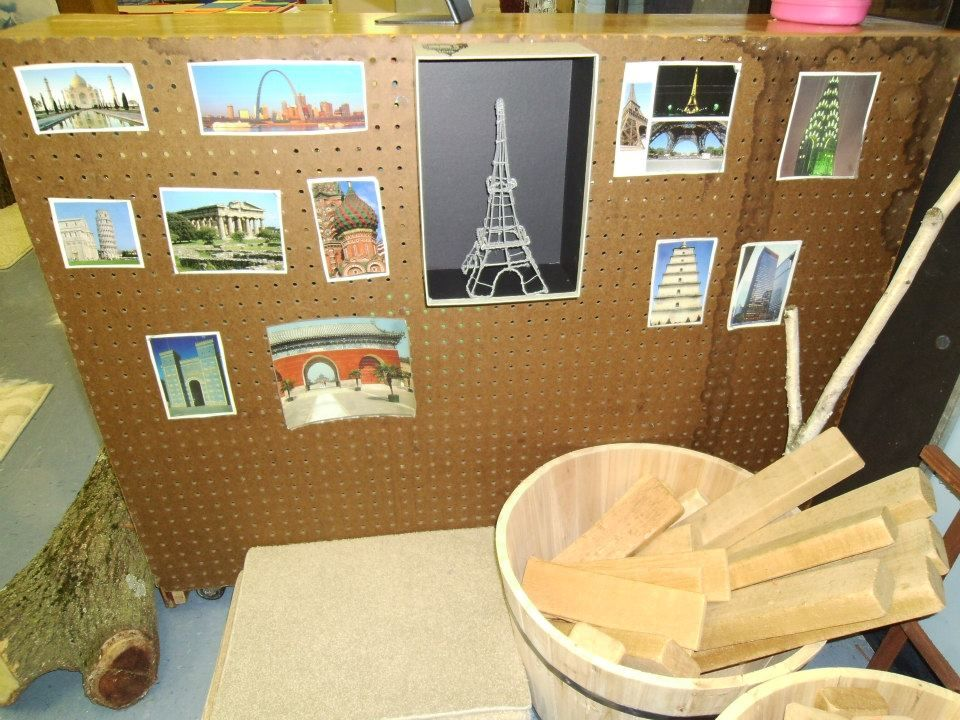 Kinder Garden: Pictures Of Famous Structures In The Classroom Blocks