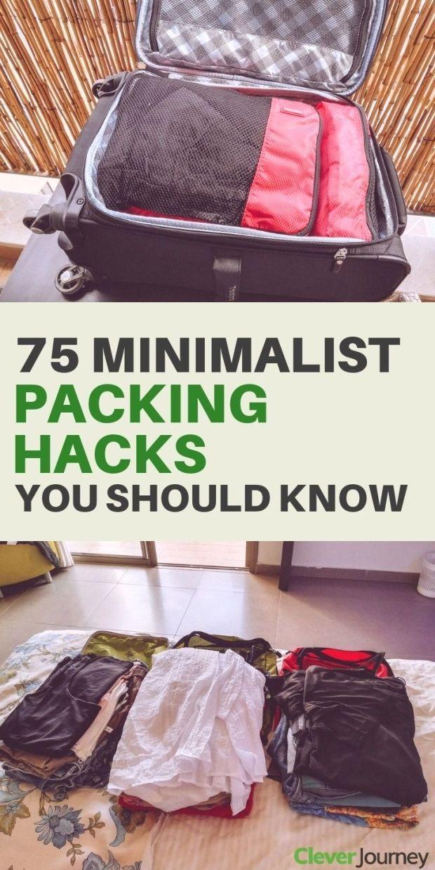 75 minimalist packing hacks for organized travel