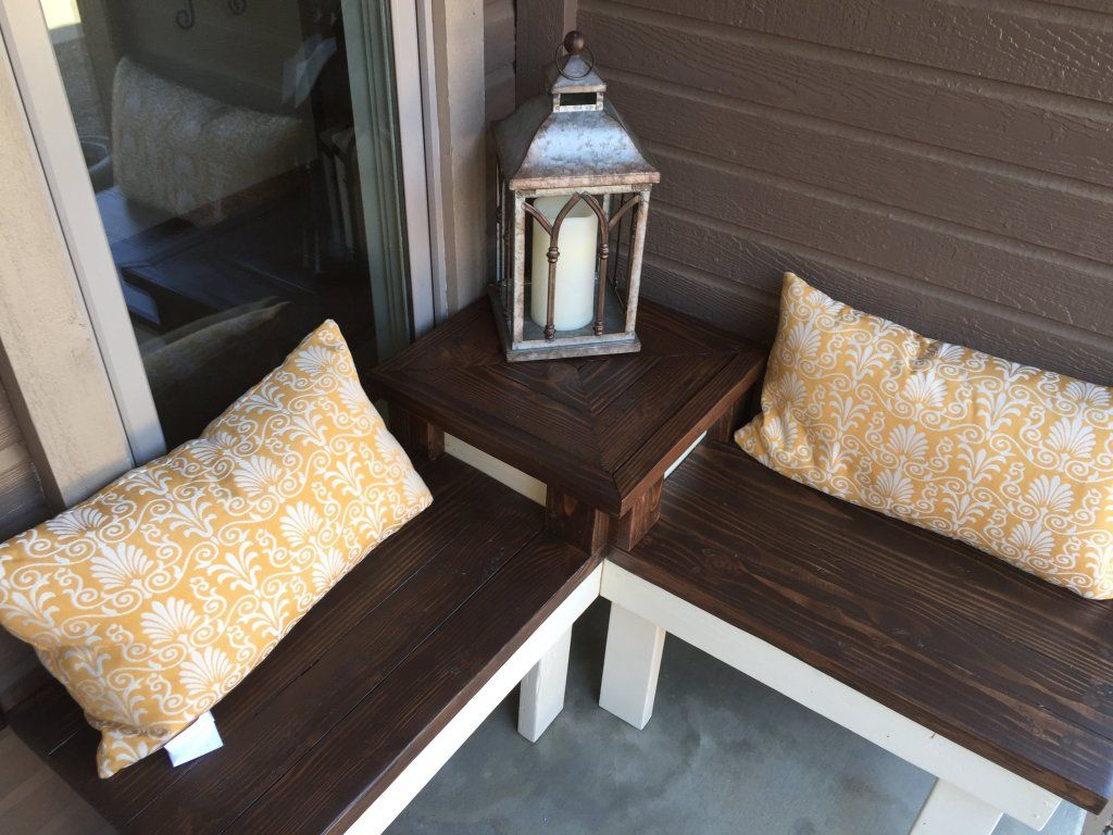DIY Corner Bench with Builtin Table Corner bench, Home