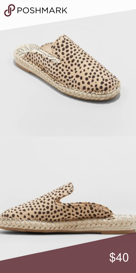 NWOT DV by Dolce Vita Elaine Espadrille Mules SOLD OUT shoe