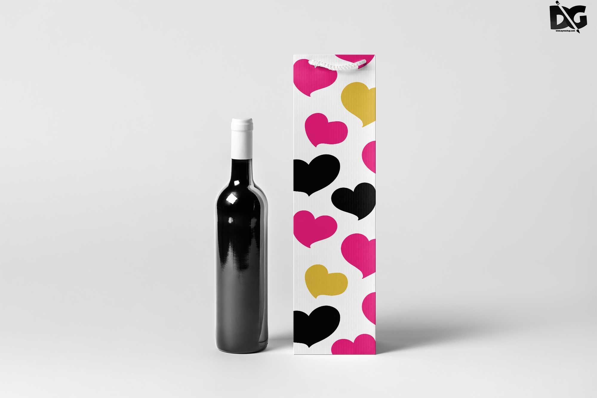 Download Free Download Premium Black Wine Pakaging Mockup Black Branding Download Download2018 Downloadpsd Free Fre Mockup Free Psd Free Mockup Free Logo Mockup