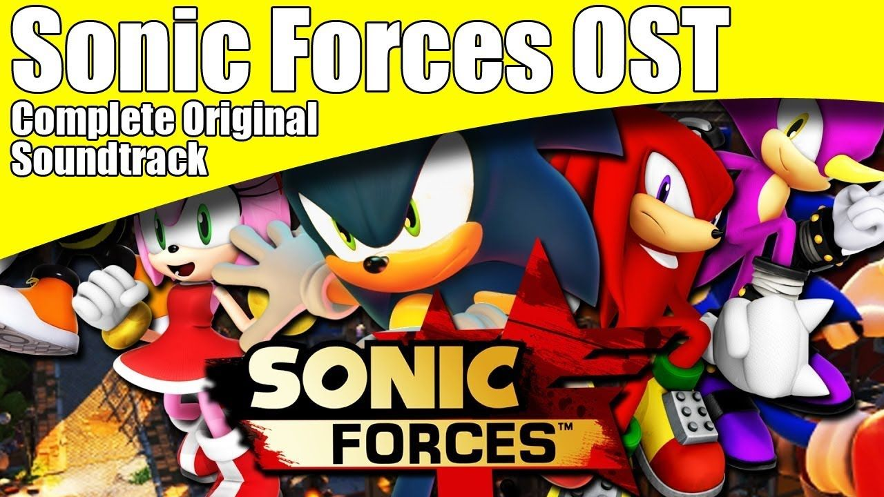 Sonic Forces Complete Original Soundtrack Sonic Forces Official Ost Full Sonic Ost Video Game Music