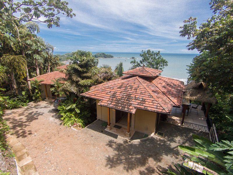 Luxury Two Bedroom Beach Villa Above Dominicalito Bay