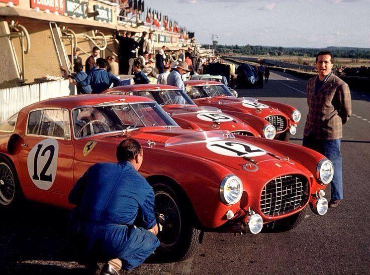 Alberto Ascari Ferrari   Berlinetta Le Mans