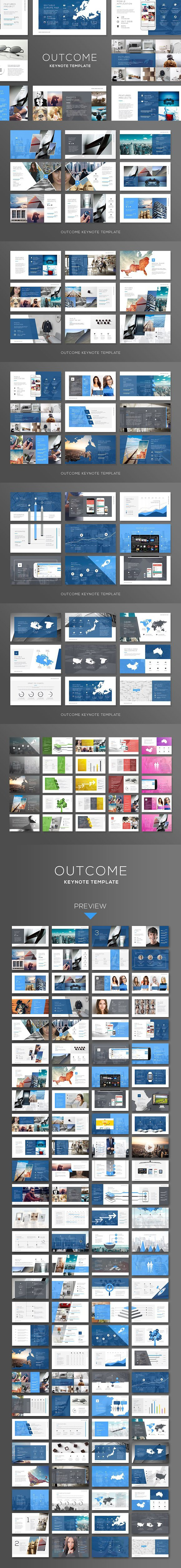 Outcome Keynote. Infographic Templates. $15.00 | Flyer | Pinterest